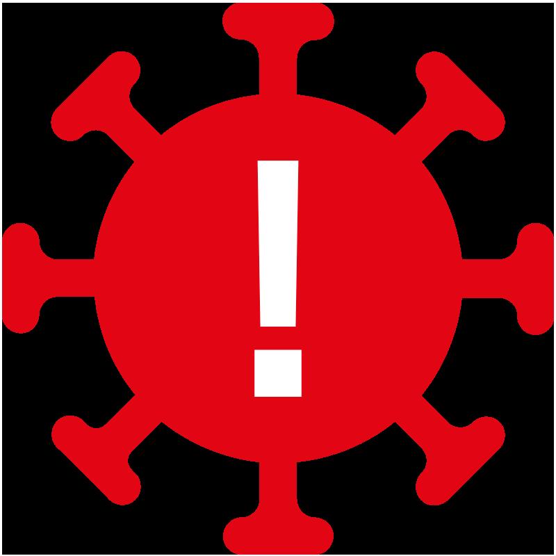 Corona-Warnzeichen